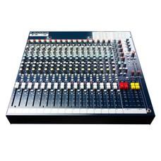 Soundcraft FX16 MK2 16-kanaals PA mixer met effecten
