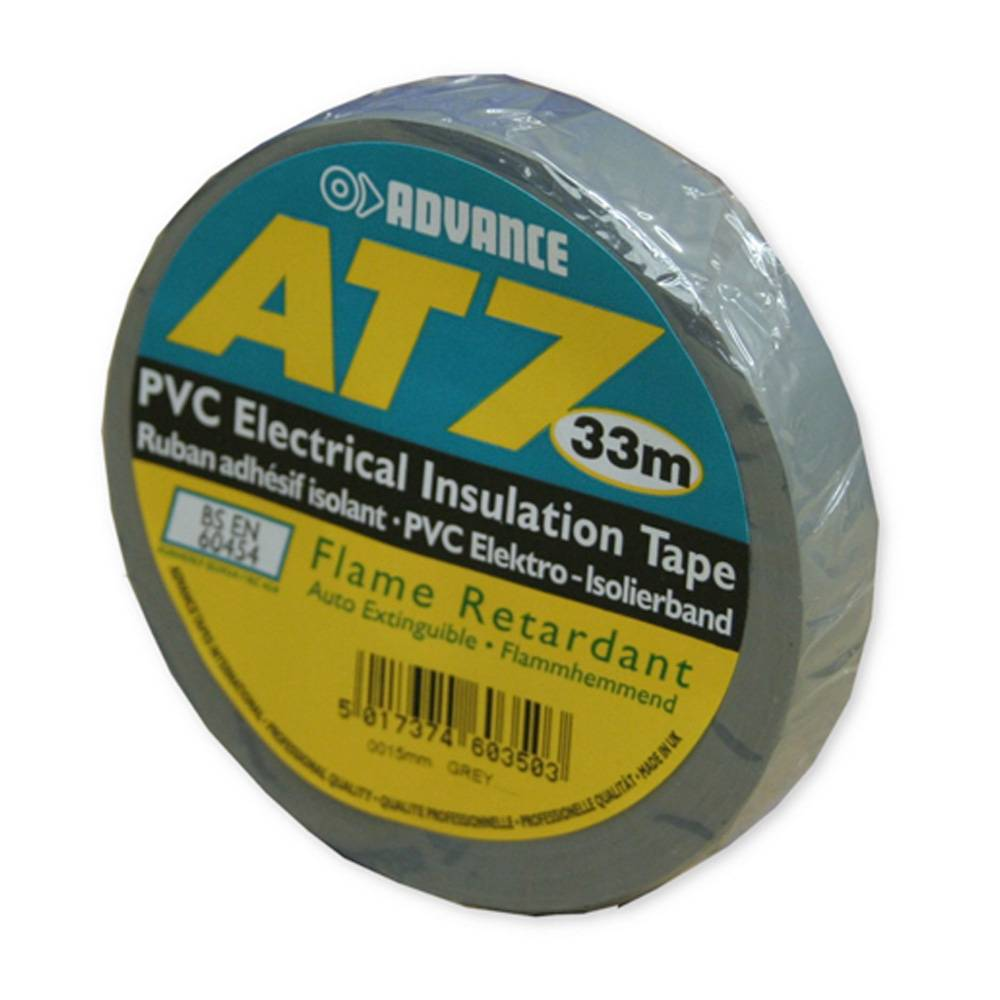 Image of Advance AT7 PVC Tape 50mm 33m grijs