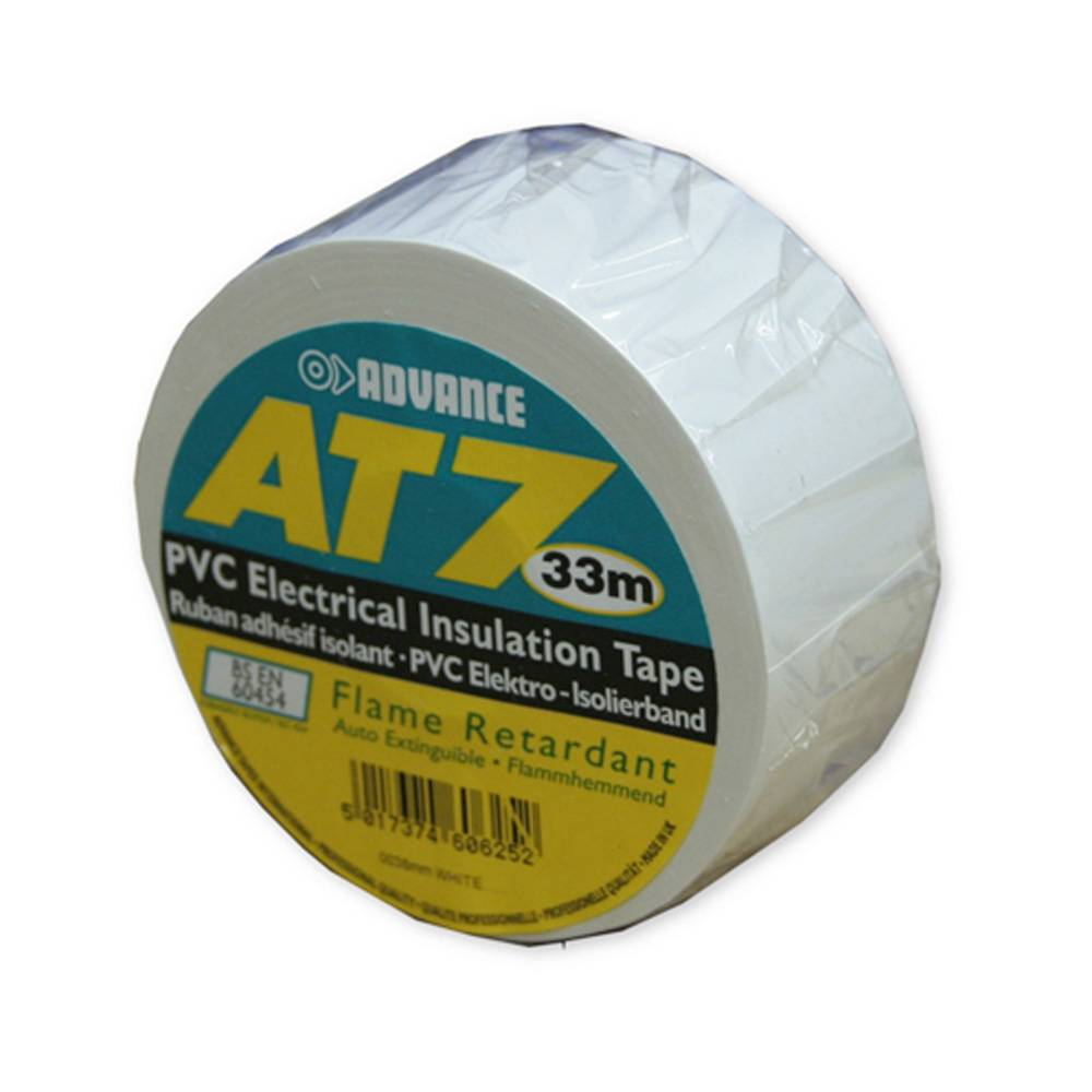 Image of Advance AT7 PVC Tape 38mm 33m wit