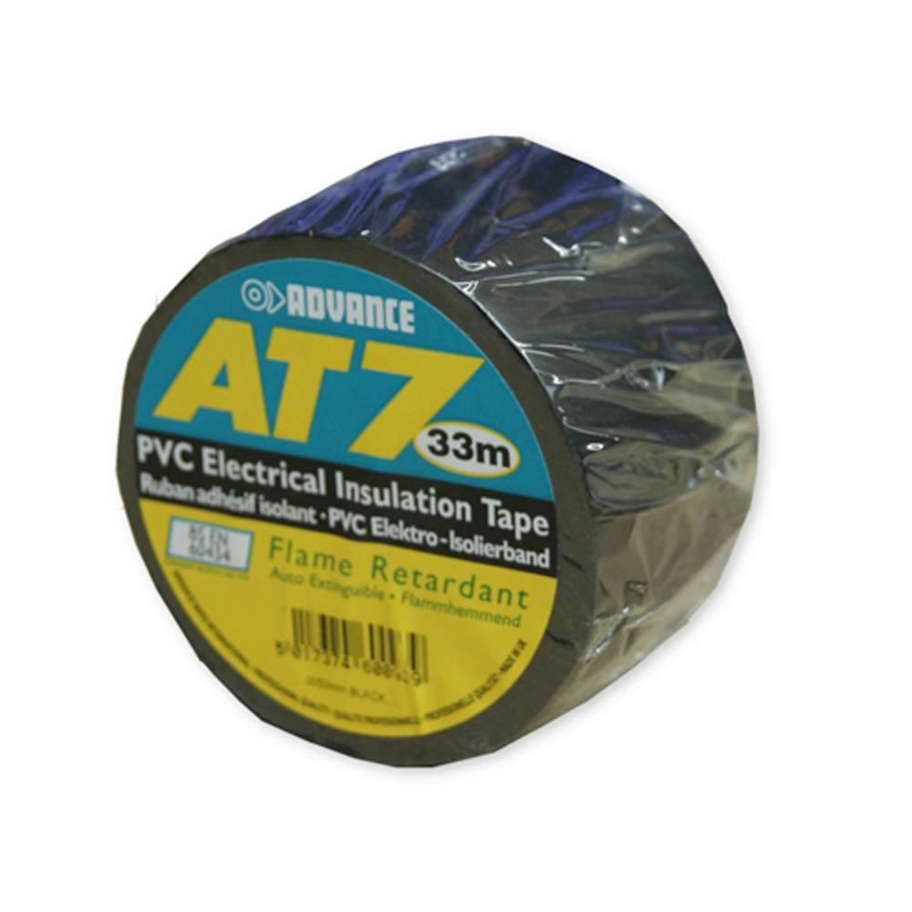 Image of Advance AT7 PVC Tape 38mm 33m zwart