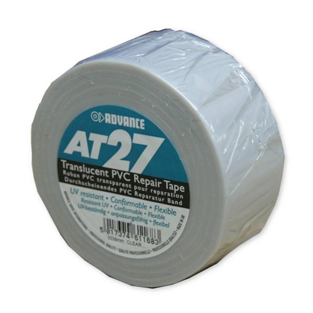 Image of Advance AT27 PVC vloertape 50mm 33m transparant