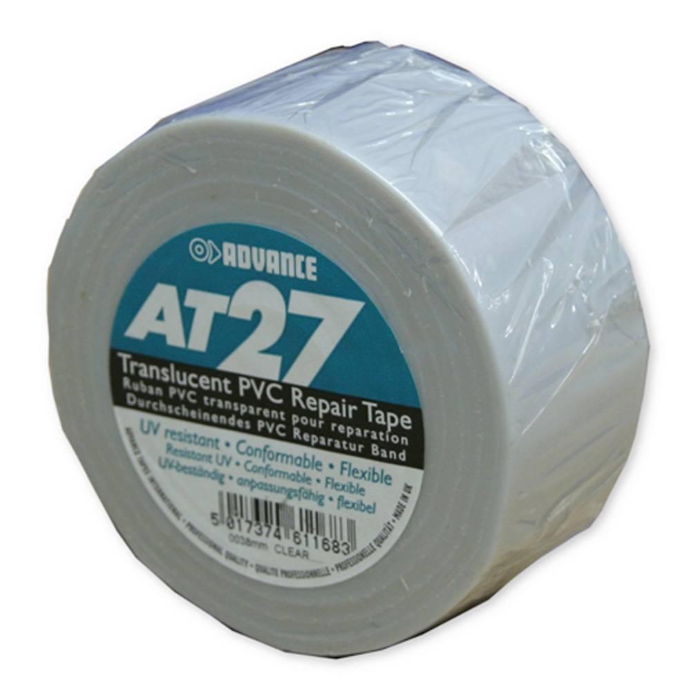 Image of Advance AT27 PVC vloertape 38mm 33m transparant