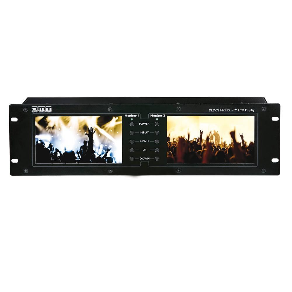 Image of DMT DLD-72 MK2 dubbel 7 inch TFT display