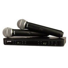 Shure BLX288-PG58 Dubbel draadloos microfoonsysteem