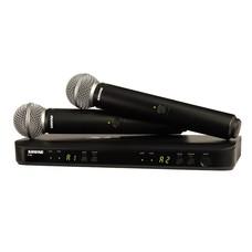 Shure BLX288-SM58 Dubbel draadloos microfoonsysteem
