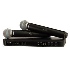 Shure BLX288-Beta 58A Dubbel draadloos microfoonsysteem