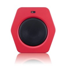 Monkey Banana Turbo 10s actieve studio subwoofer rood
