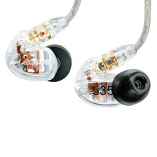 Shure SE535 Reservedopje voor in-ear links transparant