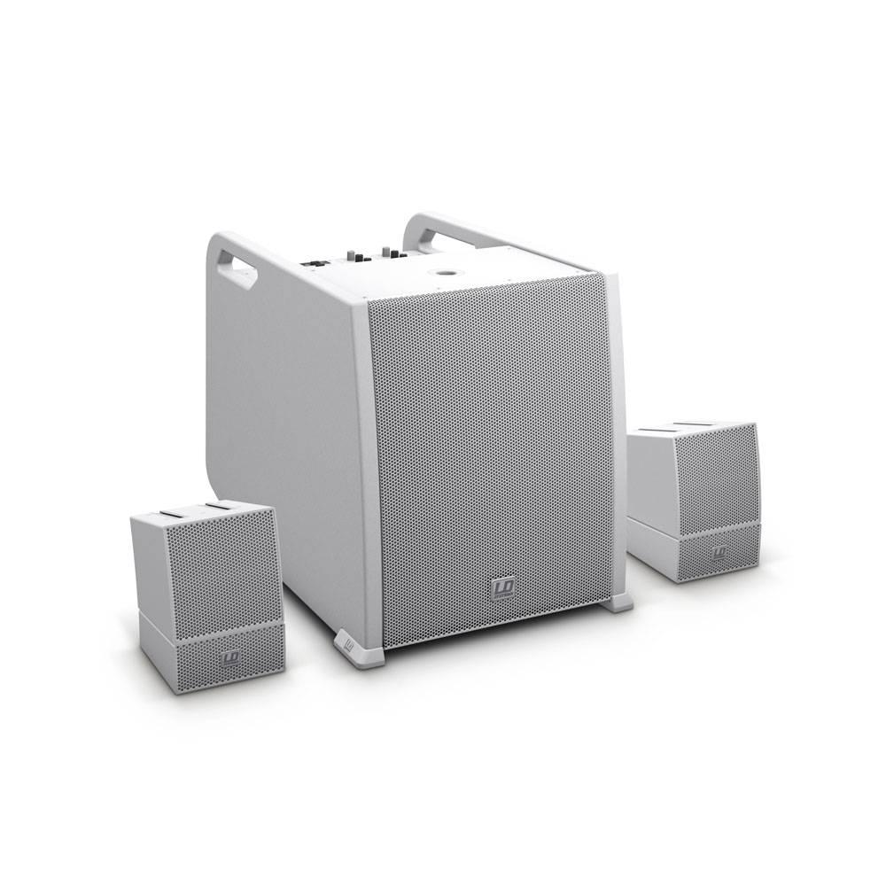 Image of LD Systems CURV500AVSW Actieve AV geluidsset wit