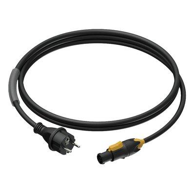Procab CAB433/1.5 Schuko naar Powercon True1 kabel 150cm