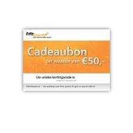 Fritz-Events Cadeaubon 50 euro