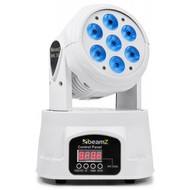 Beamz MHL74 Wash LED moving-head 7x10W wit