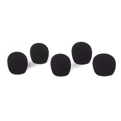 JB Systems Plopkap 5 stuks zwart
