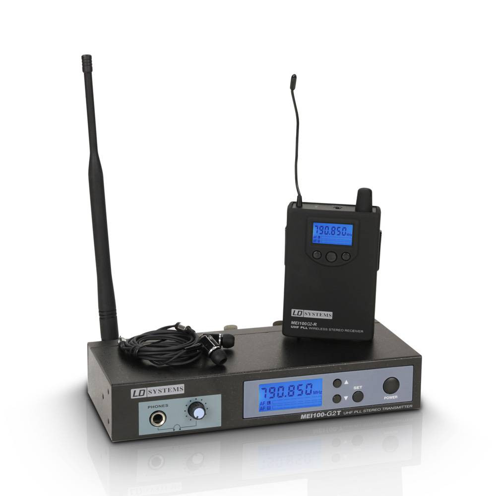Image of LD Systems MEI100 G2 B6 In-ear monitor systeem