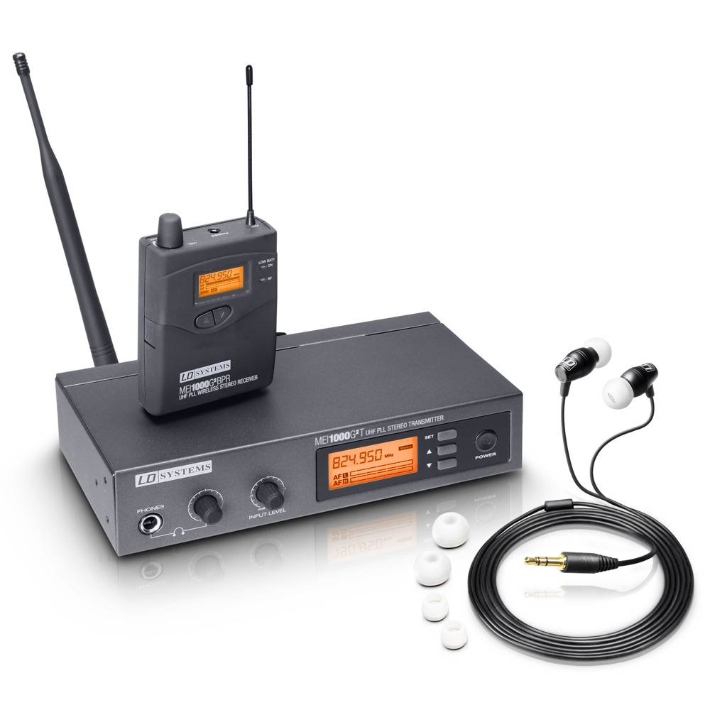Image of LD Systems MEI1000 G2 B6 in-ear monitorsysteem