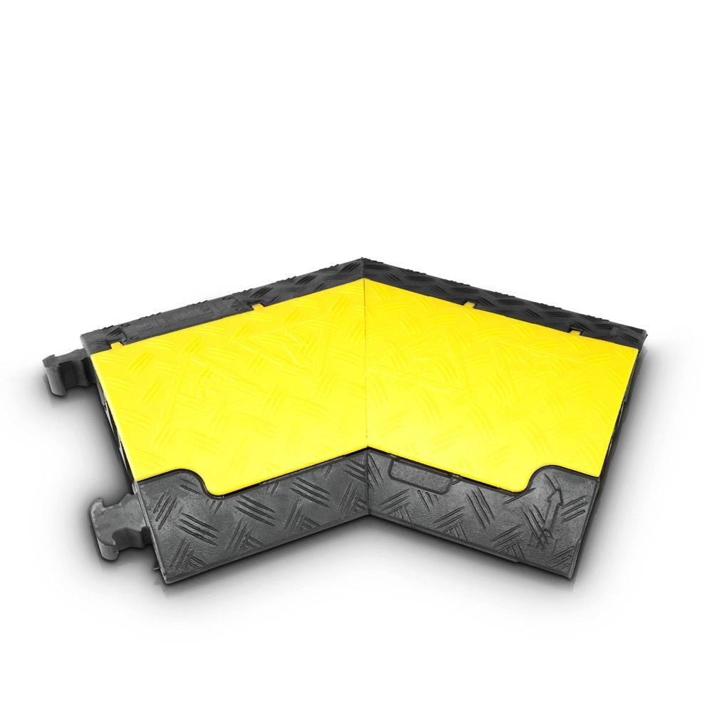 Image of Defender Mini L kabelbrug geel bocht links