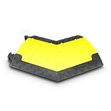 Defender Mini R kabelbrug geel bocht rechts