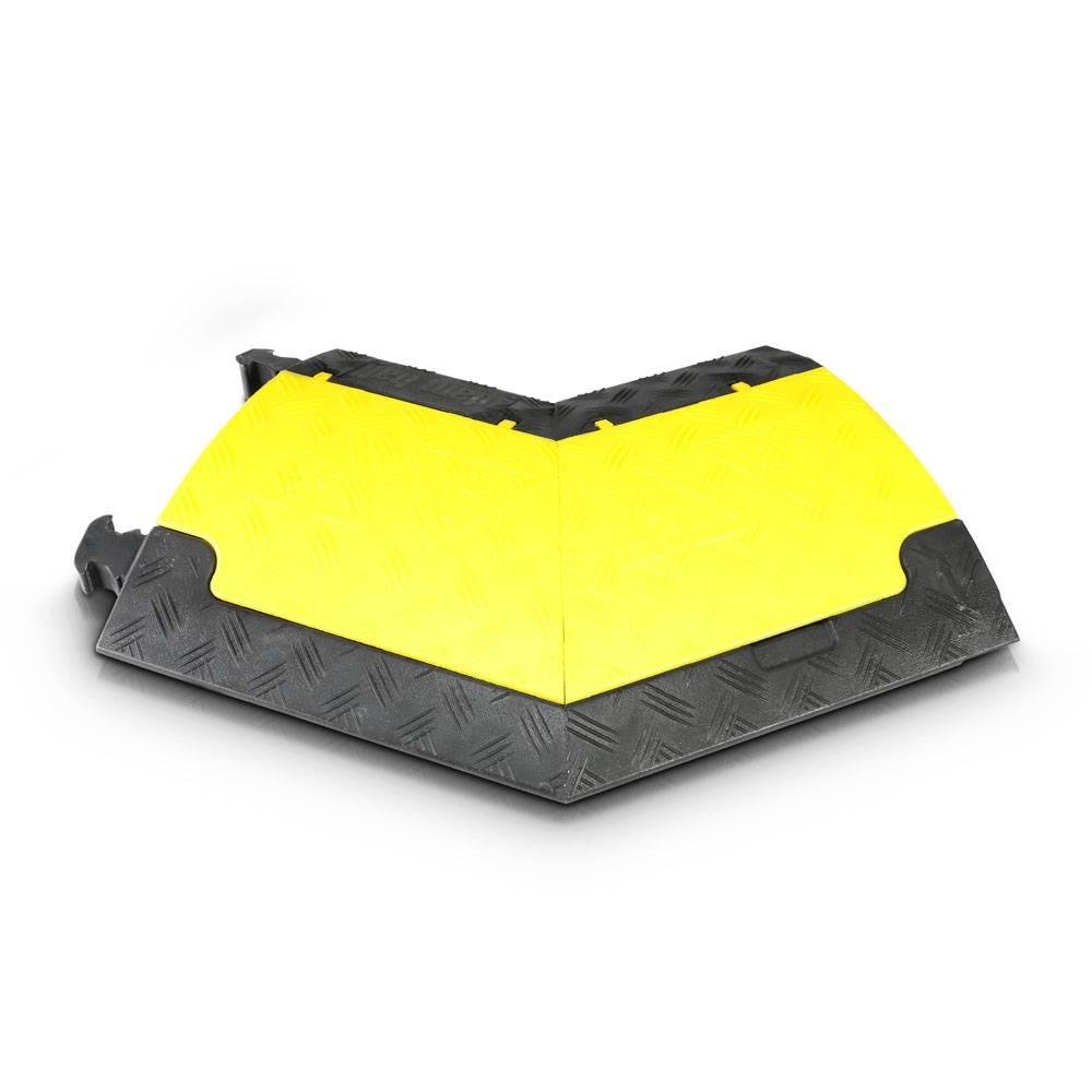 Image of Defender Mini R kabelbrug geel bocht rechts