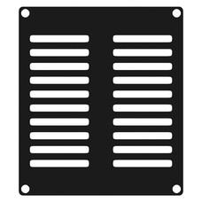 Caymon CASY202/B ventilatieplaatje 2 space