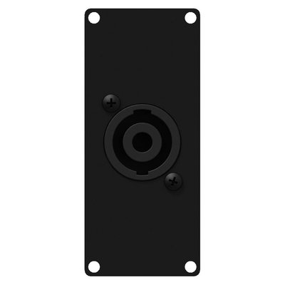 Caymon CASY141/B 1x Speakon naar terminal plaatje 1 space