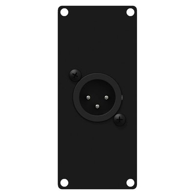 Caymon CASY122/B 1x XLR male naar terminal plaatje 1 space