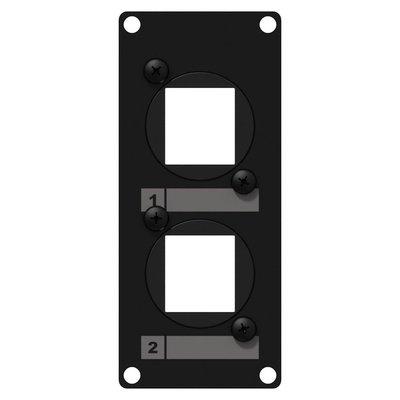 Caymon CASY107/B 2x ProCab Keystone 1 space