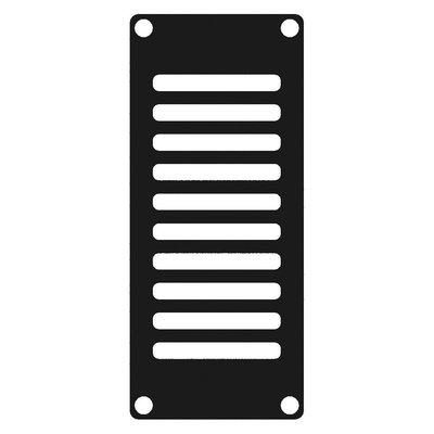 Caymon CASY102/B ventilatieplaatje 1 space