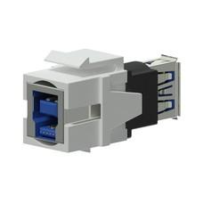 Procab VCK630/W Keystone USB3.0 connector wit