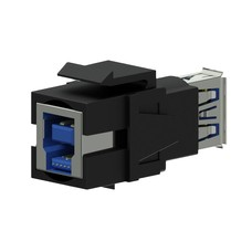 Procab VCK630/B Keystone USB3.0 connector zwart