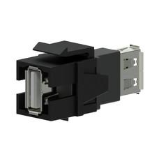 Procab VCK622/B Keystone USB A-A connector zwart