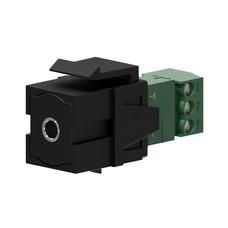 Procab VCK315/B Keystone mini-jack connector zwart