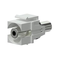 Procab VCK310/W Keystone mini-jack connector wit