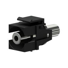 Procab VCK310/B Keystone mini-jack connector zwart