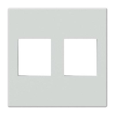 Procab CP45KS2/W Keystone 45x45mm frame wit