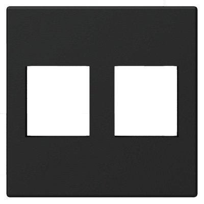 Procab CP45KS2/B Keystone 45x45mm frame zwart
