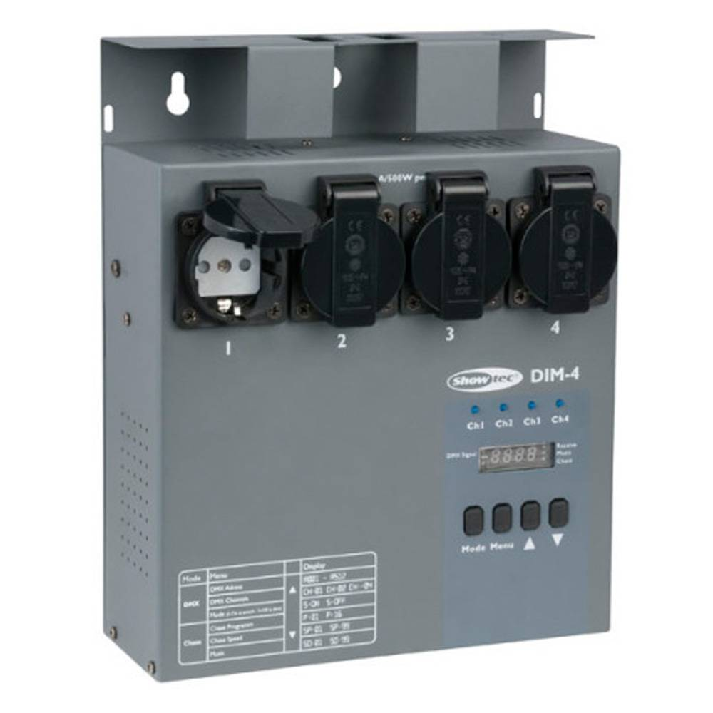 Image of Showtec DIM-4 dimmerpack