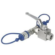 Showtec CO2 3/8 Q-lock release kraan