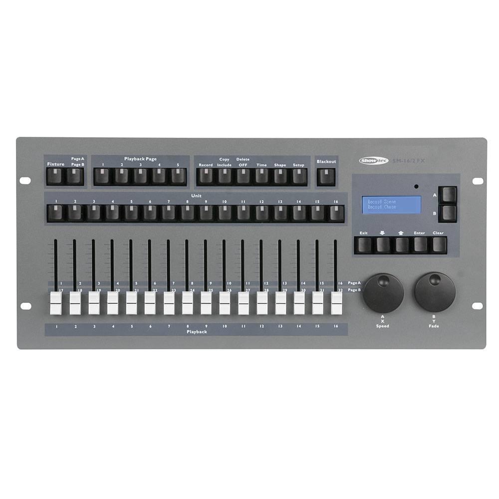 Image of Showtec SM-16/2 FX DMX lichtcontroller met shapegenerator