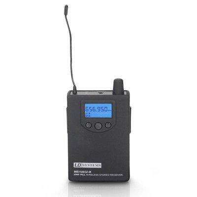 LD Systems MEI100 G2 in-ear beltpack ontvanger (B6)