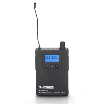 LD Systems MEI100 G2 in-ear beltpack ontvanger (B5)