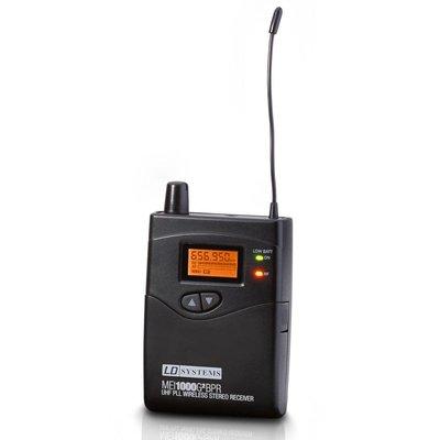 LD Systems MEI1000 G2 in-ear beltpack ontvanger (B6)