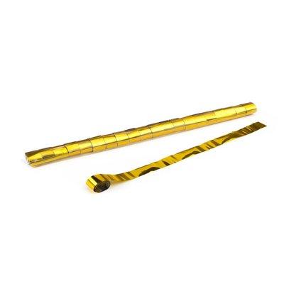 MagicFX Streamers 10m x 2.5cm goud metallic
