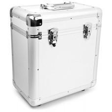 Power Dynamics RC80 Vinyl Record case voor 12 inch platen zilver