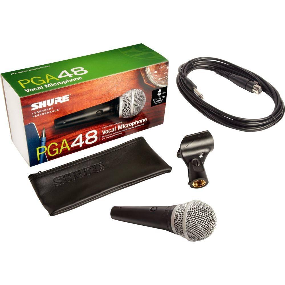 Shure PGA48-QTR dynamische zang- en spraakmicrofoon