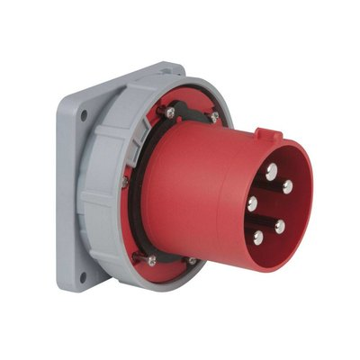 PCE CEE 125A 5-polige inbouw socket male IP67