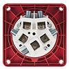 PCE CEE 125A 5-polige inbouw socket female IP67