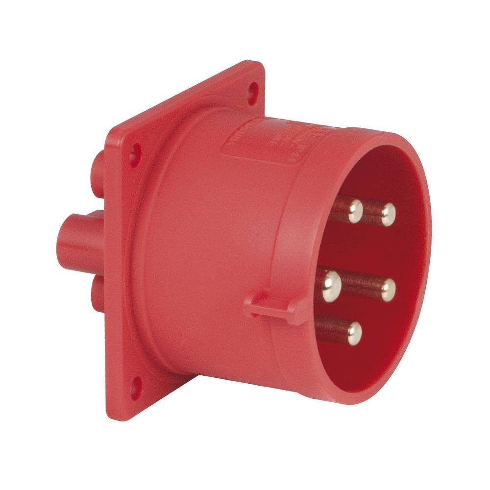 Image of PCE CEE 32A 5-polige inbouw socket male