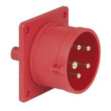 PCE CEE 16A 5-polige inbouw socket male