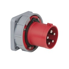 PCE CEE 63A 5-polige inbouw socket IP67 male
