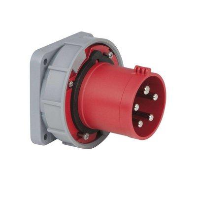 PCE CEE 63A 5-polige inbouw socket IP67 male